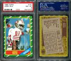 1986 TOPPS #161 JERRY RICE ROOKIE CARD PSA 8 (2773)