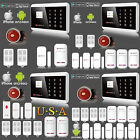 APP Remote Control Wireless & Wired GSM PSTN Home House Fire Alarm System