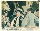THE MAN WHO KNEW TOO MUCH ORIGINAL LOBBY CARD JAMES STEWART ALFRED HITCHCOCK