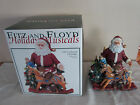 FITZ AND FLOYD HOLIDAY MUSICAL-OLD FASHION CHRISTMAS MUSICAL TUNE