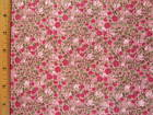 Calico flowers end of bolt cotton fabric BY THE YARD Read Full Listing Info
