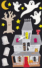 Mrs Grossmans Giant Stickers Haunted House Halloween Ghosts 2 Strips