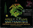 ASIA - Axis XXX Live San Francisco 2 CD + DVD