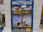 Walthers #933-3042 HO Cornerstone Concrete Coaling Tower Kit New In Original Box