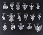 Charm Silver Angel Fairies Girl Cupid Tibetan DIY Jewelry Making Necklace Charms