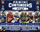 4 BOX LOT 2013 PANINI CONTENDERS FOOTBALL HOBBY SEALED BOX