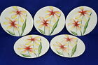 Fitz & Floyd In Bloom (5) Luncheon or Salad Plates 9 1/2