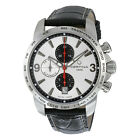 Certina DS Podium Chronograph Automatic Silver Dial Black Leather Mens Watch
