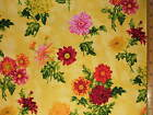 Flowers November cotton fabric BY THE YARD