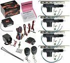 CrimeStopper SP-101 Car Security Alarm & Keyless Entry System with (4) Car New