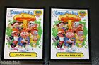 2015 GARBAGE PAIL KIDS 30TH ANNIVERSARY COMPLETE BLACK GLOSSY SET 220 CARDS A B
