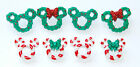 Mickey  Minnie Mouse Wreaths  Canes Disney Collection Dress It Up Buttons