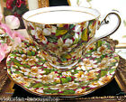 ROYAL STANDARD TEA CUP AND SAUCER CHINTZ PEACH BLOSSOM TEACUP PATTERN