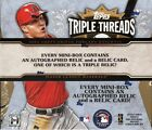 2014 TOPPS TRIPLE THREADS BASEBALL HOBBY 9 BOX CASE
