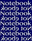 Notebook Not eBook Unruled Notebook with 120 Pages: Unruled Notebook with 120 Bl