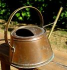Vintage Solid Copper & Brass Watering Can Made in England by Lombard
