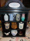 Pfaltzgraff Bicentennial Miniature Minatures Jug Crock Collection 1-10