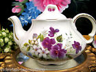 ELLGREAVE MADE IN ENGLAND TEAPOT PRETTY FLORAL  PATTERN TEA POT FOR 2