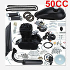 Black 50cc 2 Stroke Petrol Gas Motor Bicycle Engine Motor Kit for Motorized Bike