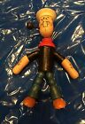VINTAGE ANTIQUE 1930's WOOD JOINTED POPEYE TOY FIGURE!