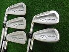 NEW LH CALLAWAY RAZR X FORGED IRON SET 3568PW PROJECT X 60 STEEL IRONS