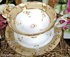 ANTIQUE 18th c.1830'S early victorian TEA CUP AND SAUCER RIDGWAY TEACUP