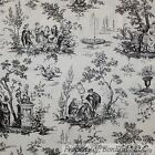 W Flower Lg Toile Decor