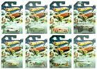 2013 Hot Wheels Christmas Holiday Hot Rods WalMart Set of 8 164 Diecast Set