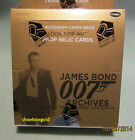 JAMES BOND 007 ARCHIVES, Factory Sealed Trading Card BOX – New for 2014