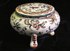 Vintage Trinket Box Hand Made & Painted in PORTUGAL BERARDOS numbered & signed