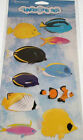 Reminisce UNDER THE SEA TROPICAL FISH Glitter Chipboard Stickers Scrapbooking