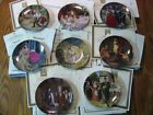 Charles Gehm Grimm's Fairy Tale Plate Set of 8 Bayern NEW OLD STOCK