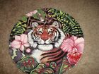 Fitz and Floyd Exotic Jungle  Plate  Tiger