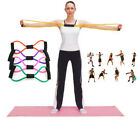 New Fitness Gym Yoga Sports Exercise Pull Rope Tube Resistance Bands Equipment