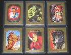 1996 Marvel Masterpieces GOLD GALLERY FRAME Insert Set of 6 Cards NM M