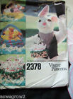 Vogue Easter Basket & transfers sewing  pattern baskets & fill animals Free ship