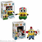 Funko POP! Movies Figures Despicable Me Fire Alarm & Hula Minion #126 #125