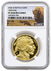 2006 W 1 Oz 9999 Gold Buffalo Proof 50 NGC PF70 UC Buffalo Label SKU29669