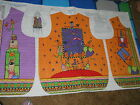 Daisy Kingdom Quilted Trick or Treat Vest Fabric Panel Halloween Mult-Color New