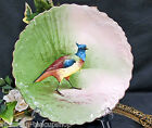 LIMOGES FRANCE WILD BIRD PLATE CHARGER HANDPAINTED A/F