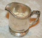 Antique WOOL CLUB, NY 2.25 oz. Silver Soldered Creamer / Pitcher ~ REED