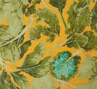 Classics Collection Veggie Leaves Martha Negley Rowan Fabic BTY PWMN065 Yellow