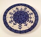 BOLESLAWIEC Polish Pottery Hand Made POLAND RW Holiday SNOWFLAKE Christmas