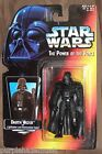 New 1995 STAR WARS The Power Of The Force Darth Vader w Lightsaber and Cloak