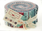The Boat House American Patriotic Summer Red Blue Sailing Jelly Roll Fabric