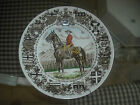Collector Plate Ironstone Royal Canadian Mounted Police Horse Wood and Sons