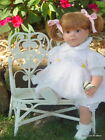 Retired  Lee Middleton  Butterfly Kisses  by Reva Schick  22 Vinyl Doll