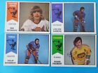 LOT OF 10 DIFFERENT 1974-75 O-Pee-Chee WHA HOCKEY CARDS with Minor Stars OPC