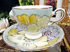 TUSCAN  CHINTZ FLORAL TEA CUP AND SAUCER PAINTED PATTERN DESIGN TEACUP