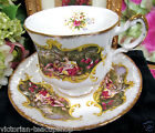 PARAGON TEA CUP AND SAUCER COURTING COUPLE PATTERN TEACUP CHIPPENDALE